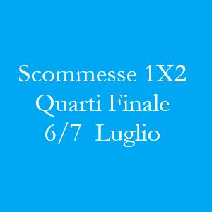 Scommesse 1X2 Quarti di Finale della Coppa del Mondo 2018 in programma venerdì 6 e sabato 7 luglio